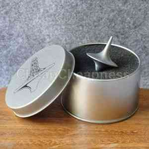 Zinc Alloy Silver Spinning Top From Inception Totem