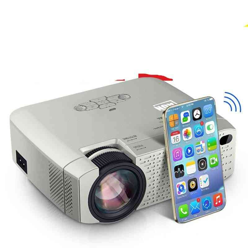 Portable, Mini And Smart Led Projector With Synchronize