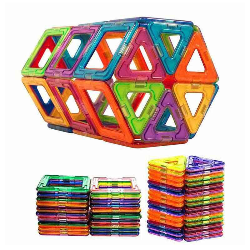 50pcs Big Size Magnetic Building Blocks Educational Toy For