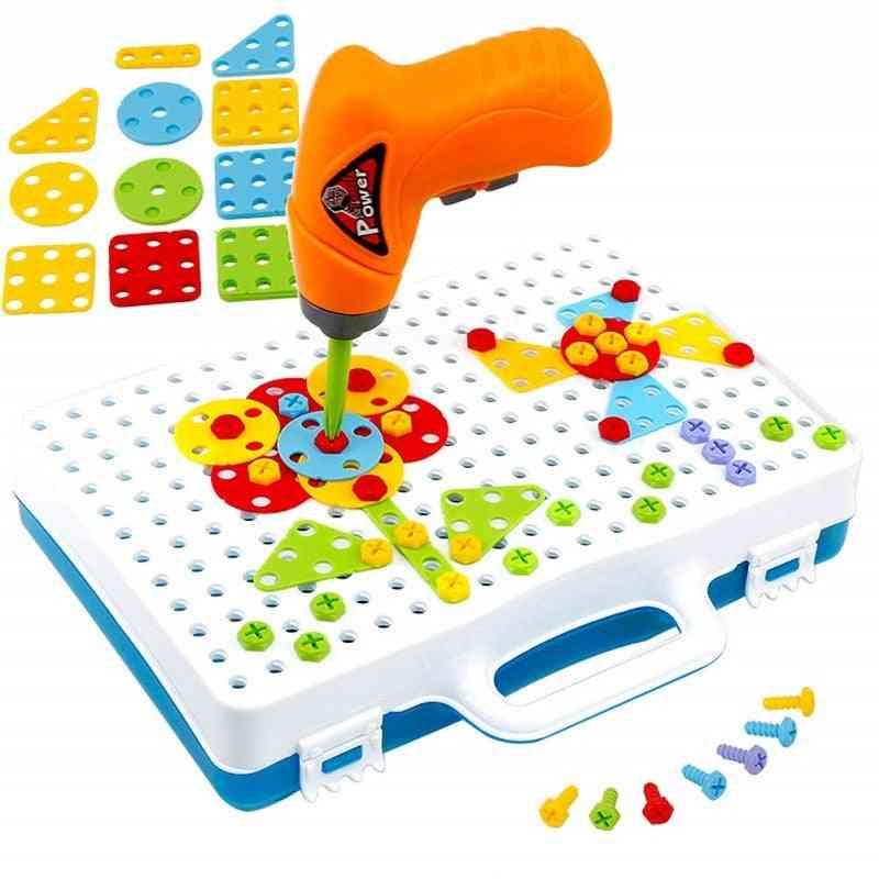 Children Drill Puzzle Construction For Kids Education Puzzle