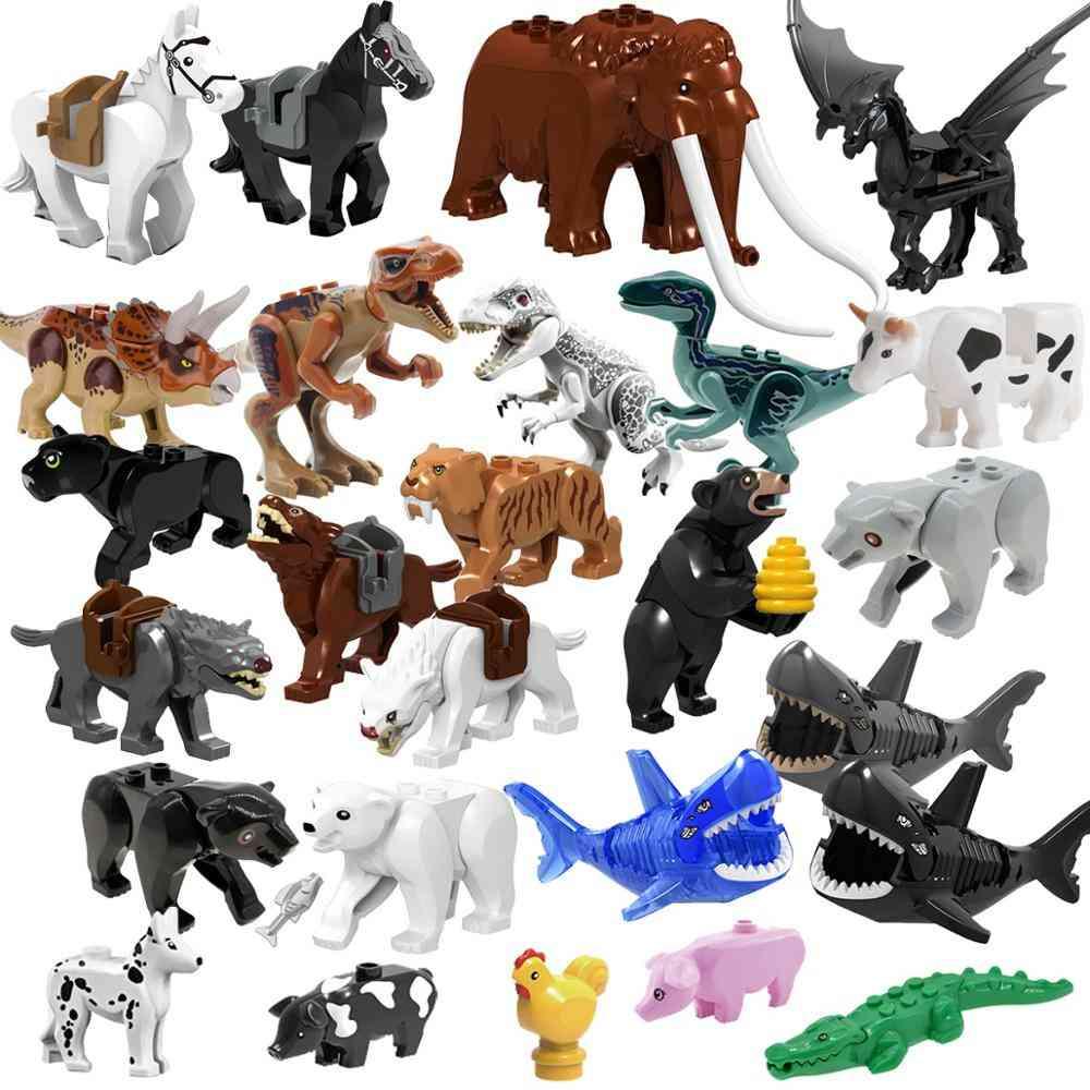 Single Sell Animal World Zoo Model- Figure Action Toy Set