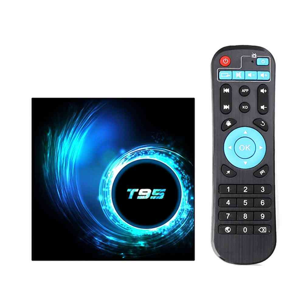 T95 Android 10.0, Youtube, Hd 6k, Quad Core Android Tv, Smart Tv Box