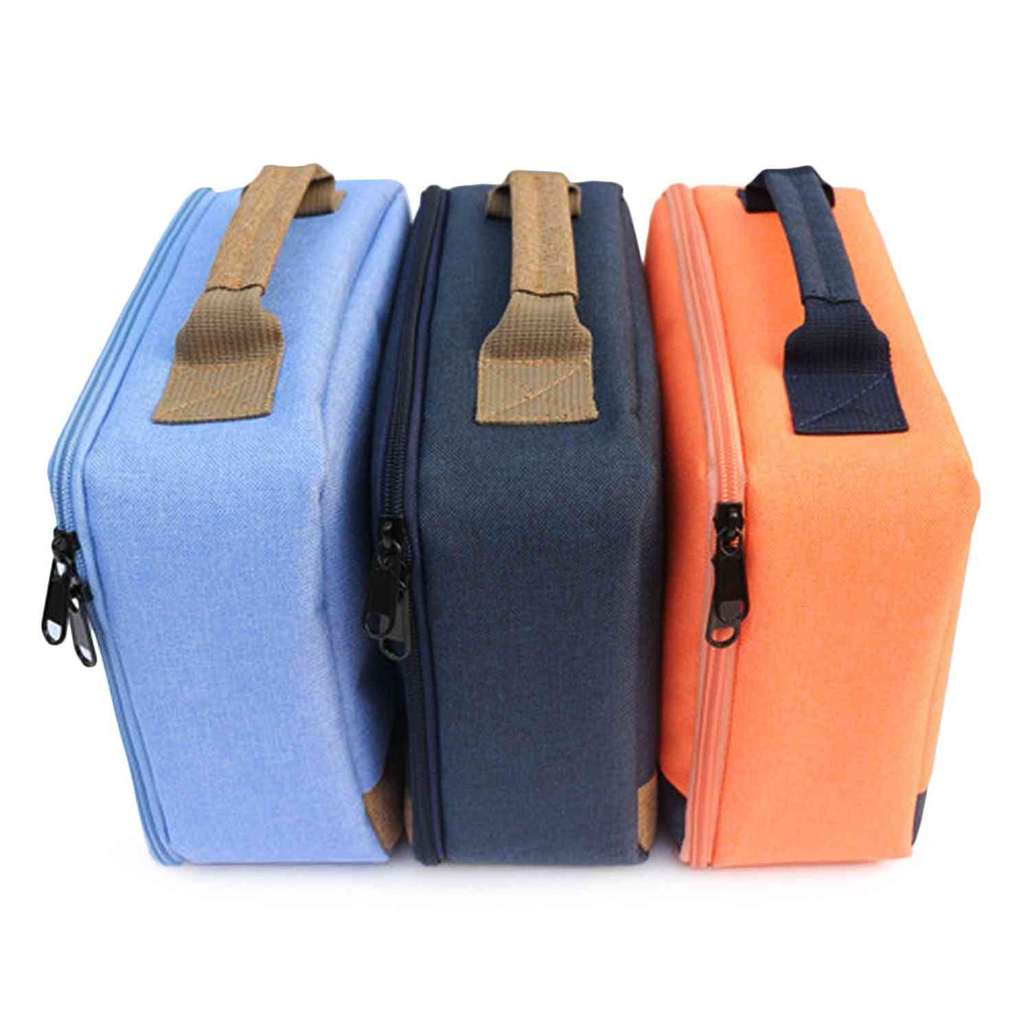Portable Scratchproof, Shockproof Canvas Storage, Carry Bag, Handbag Case For Selphy Cp910 1200 Mini Printer Projectors