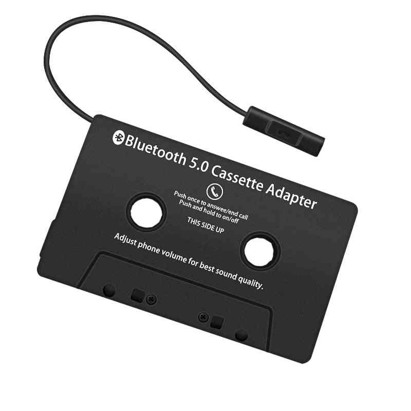Bluetooth 5.0 Cassette Adapter For Smartphones And Car Compact Disc Player