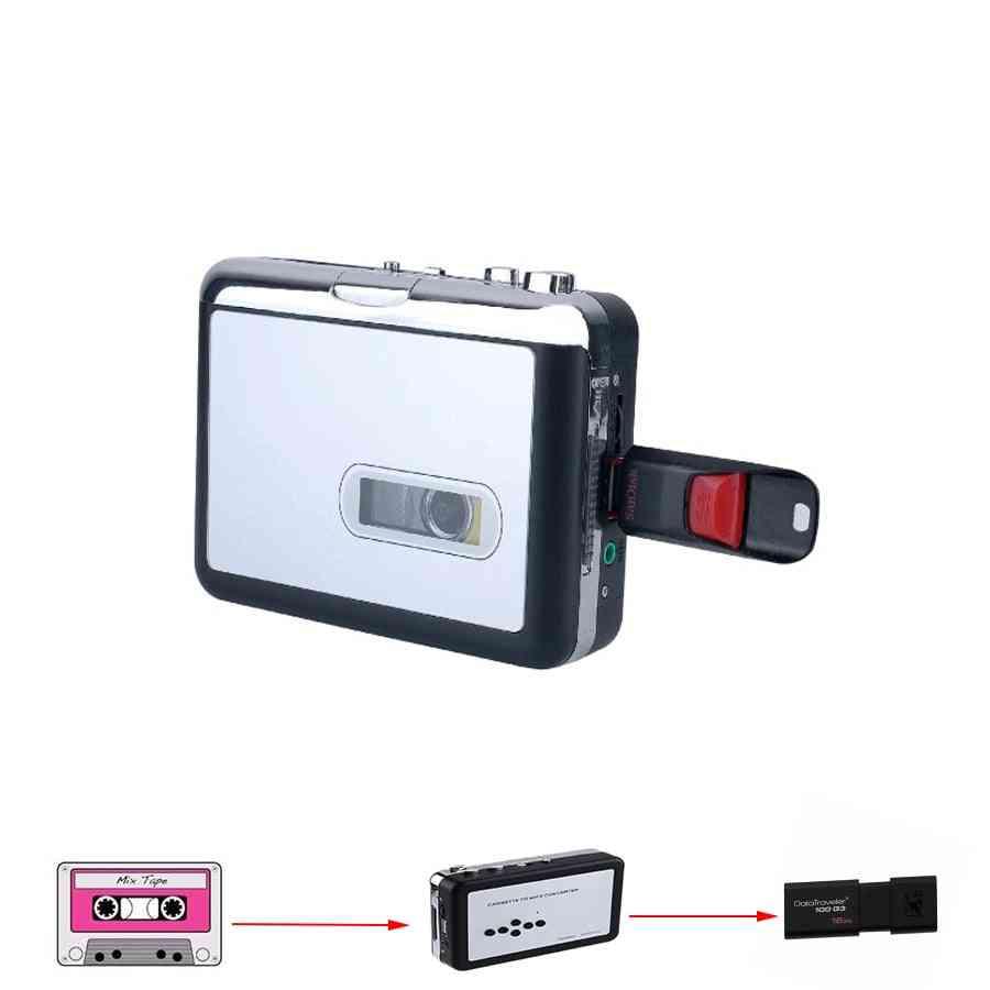 Portable, Standalone Audio Music Recorder Cassette - Tape To Mp3 Converter