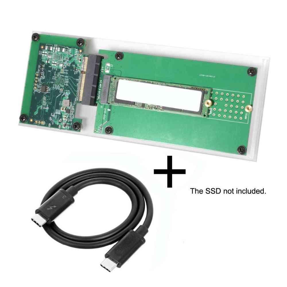 Thunderbolt 3 To Pci Express Pci-e To Ngff M-key - Convert Case Cartridge