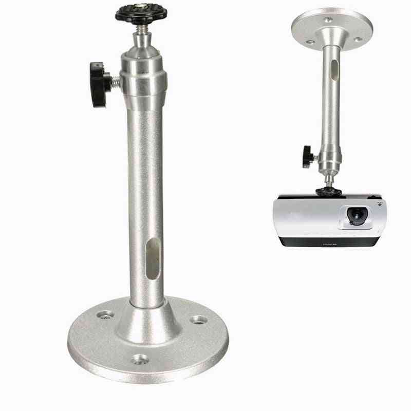 1pc 360 Degree Adjustable Projector -ceiling Mount Stand 18cm Wall Projector For Bracket Metal Swivel Mount