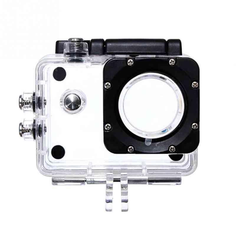 Outdoor Sport Action, Camera Box Case, Waterproof Case For Camera Accessories Sj4000 Sj4000+ Sj7000 Sjcam With Black Edition