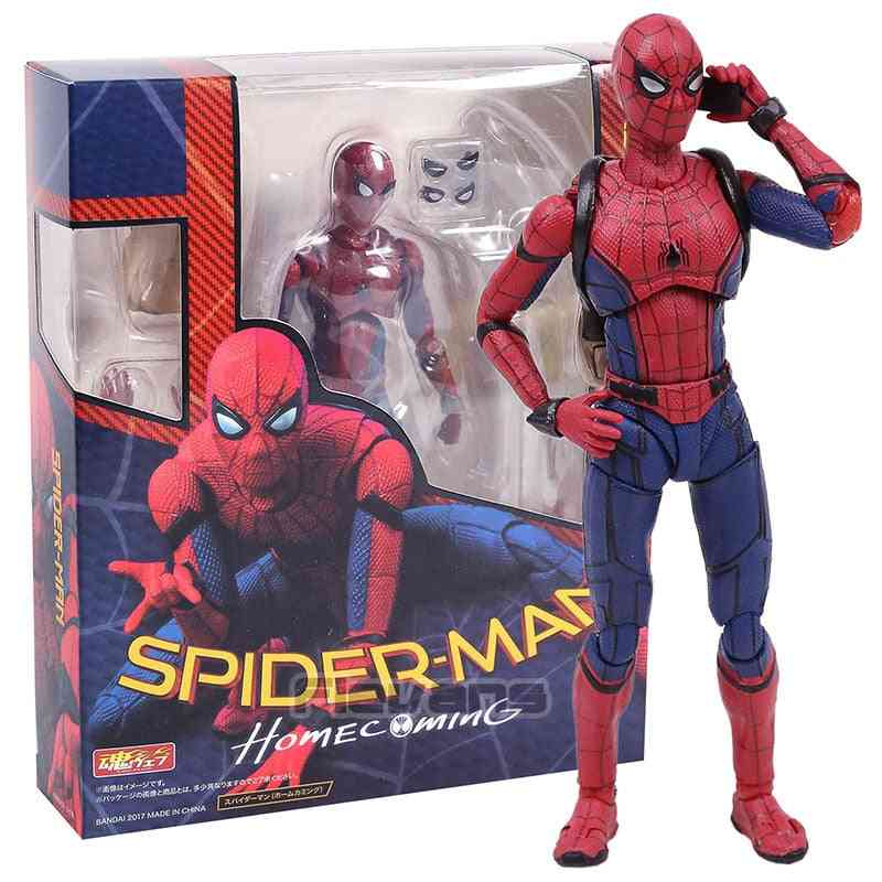 Shf Spider Man Homecoming, The Spiderman Pvc Action Figure Collectible Model Toy