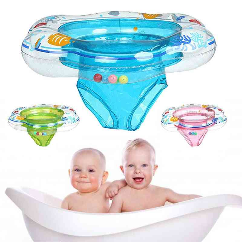 Swimming Rings Float Buoy Inflatable Waist Trainer Pool Inflatable Ring- Toddler Flotador Double Safety Swim