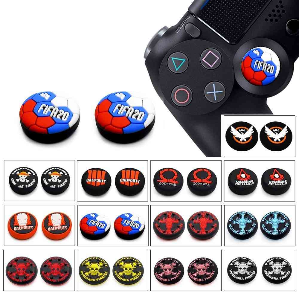 Ps4 Thumb Grip Caps Play Station 4, Ns Switch Pro Controller Joystick Cap