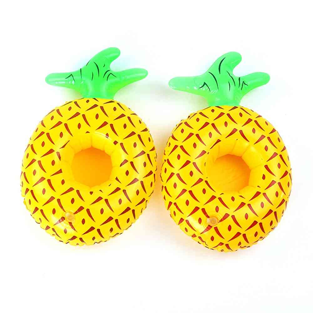 Fruit Pattern, Inflatable Drink Holders For Swimming Pool And Summer Party