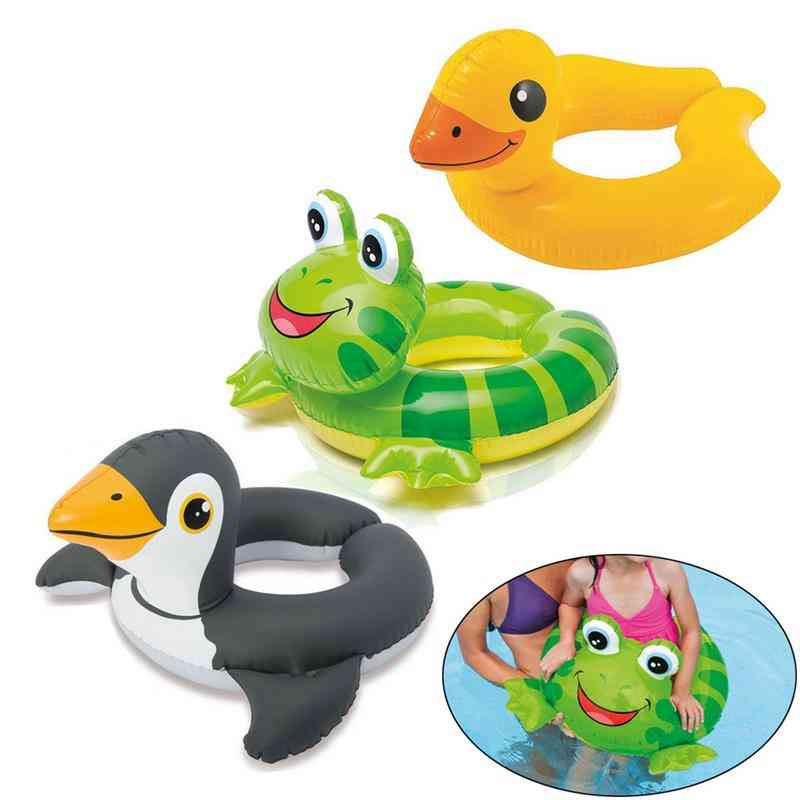 Inflatable Float Seat Boat, Safe Raft Kids Water Car Toy