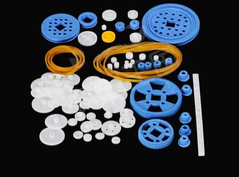Diy Assembly Plastic Gear Set