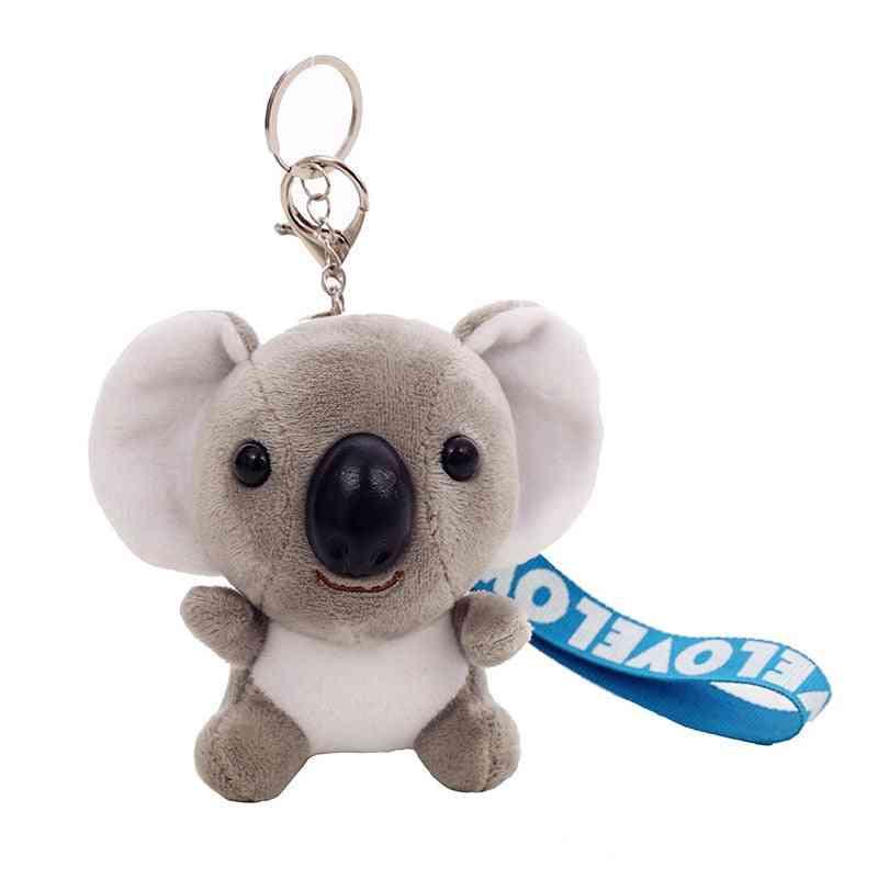 Cute Plush Koala Keychain Toy Stuffed Animal - Koal Doll Imitation-rabbit