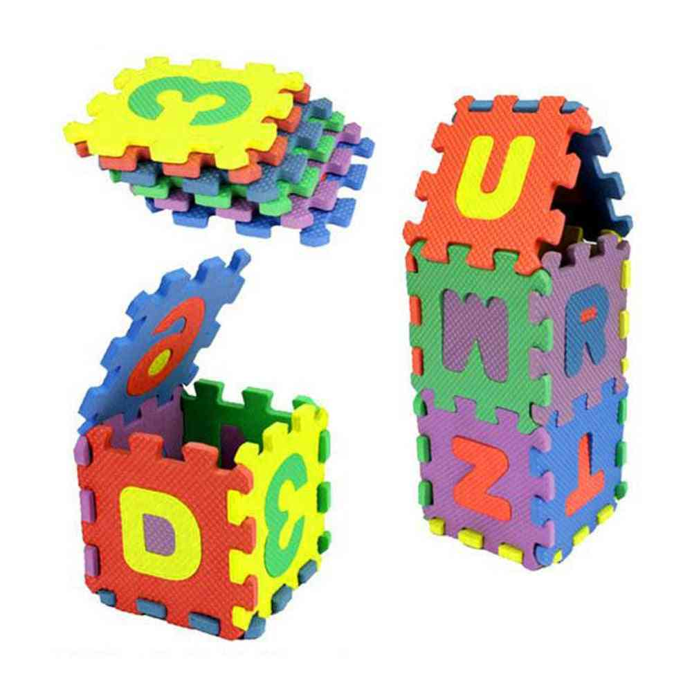 Number And Alphabet Puzzle - Foam Maths Baby Educational Toy
