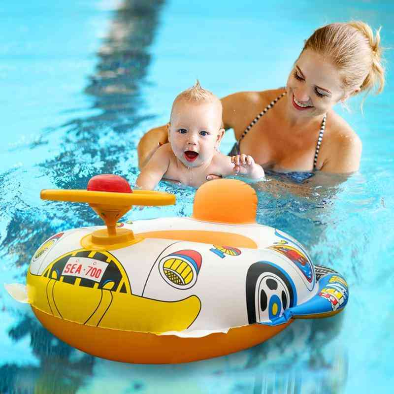 Car Boat Design, Infant Swimming Safety Ring-pool Seat