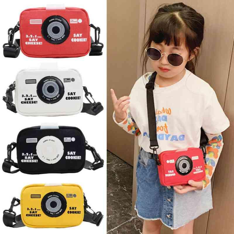 Fashion Kids-messenger Bags, Camera-print Bag
