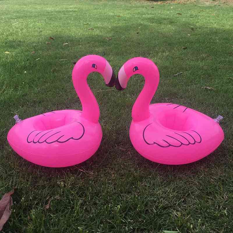 Flamingo Inflatable Cup Holder Water Toy