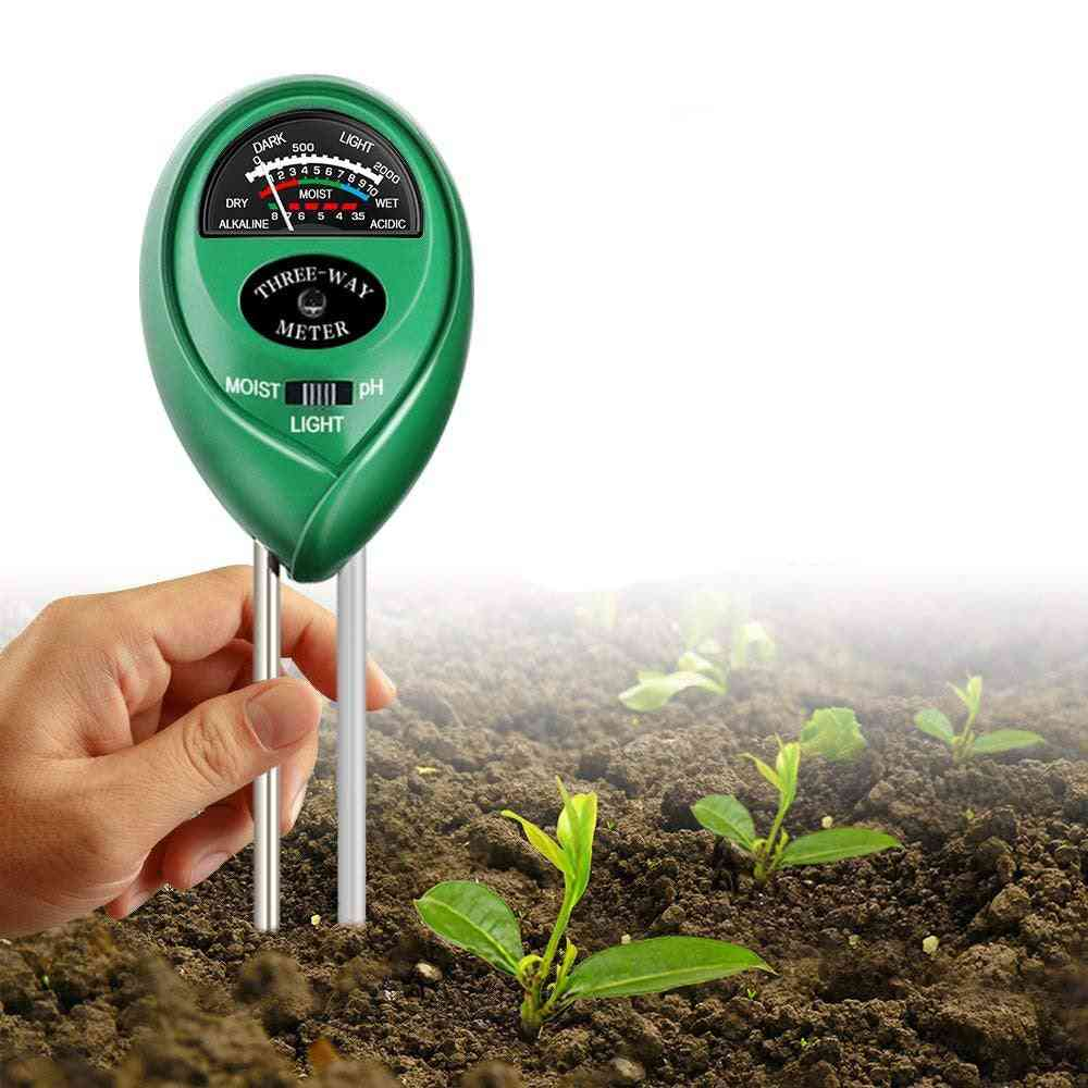 3-in-1 Soil Tester Kit For Garden, Farm Lawn, Indoor & Outdoor
