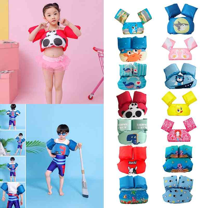 Baby Swim Buoyancy Vest Swimming Ring Float Pool / Gilrs Kids- Infant Kid Life Safety Catoon Fancy Jacket