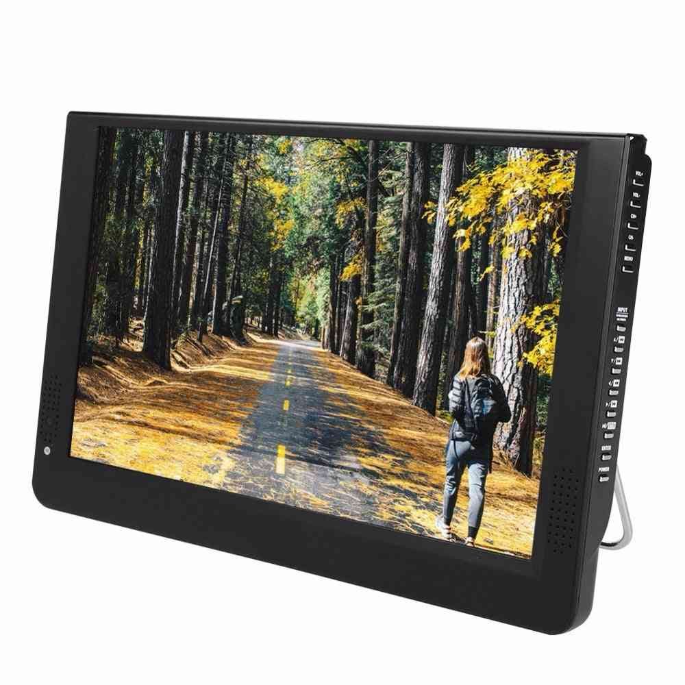 12 Inches Analog Led Televisions - Support For Tf Card, Usb Audio And Video Player