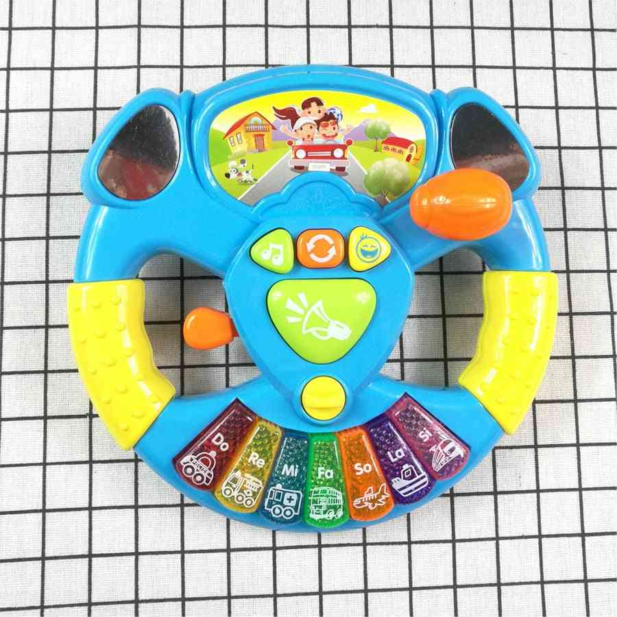 Toy Musical Instruments, Steering Wheel Musical Handbell Developing Educational