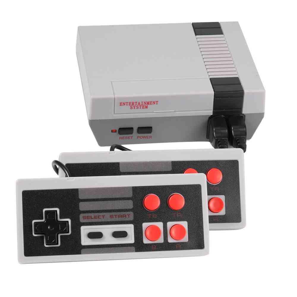 Built-in 500/620 Games Video Console, 8bit Mini Tv Handheld Retro Game Console Handheld Retro Gaming Player Av