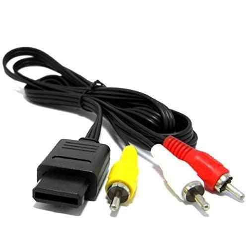 Rca Av Tv Audio & Video Cord Cable For Nintendo