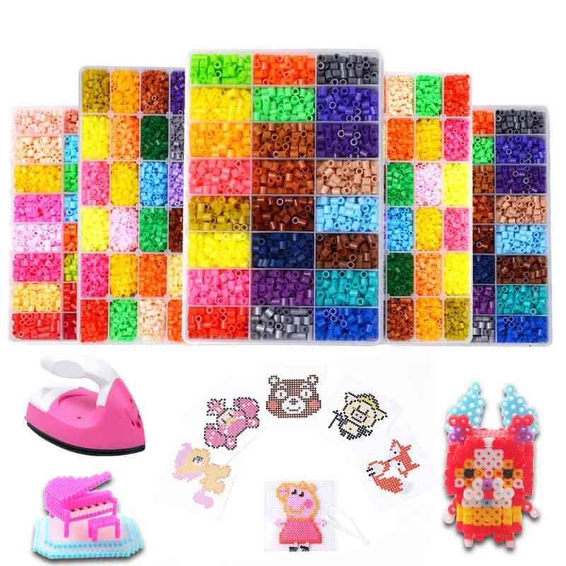Perler Beads Kit - Creative 3d Puzzle Ironing Handmade Toy