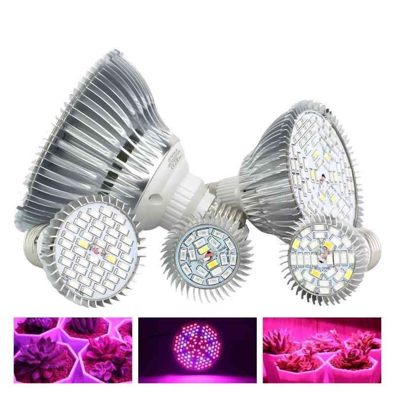 Led Grow Light Full Spectrum E27 Uv/ Ir Led For Indoor Hydroponics Plant Light