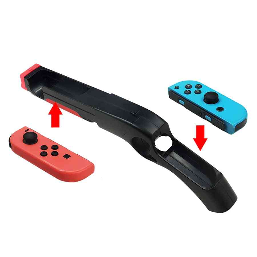 Gun Handle Grips For Nintendo Switch, Joy-con Gamepad Controllers