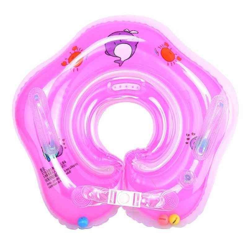 Swimming Baby Neck Ring Tube Safety Infant Float Circle For Bathing