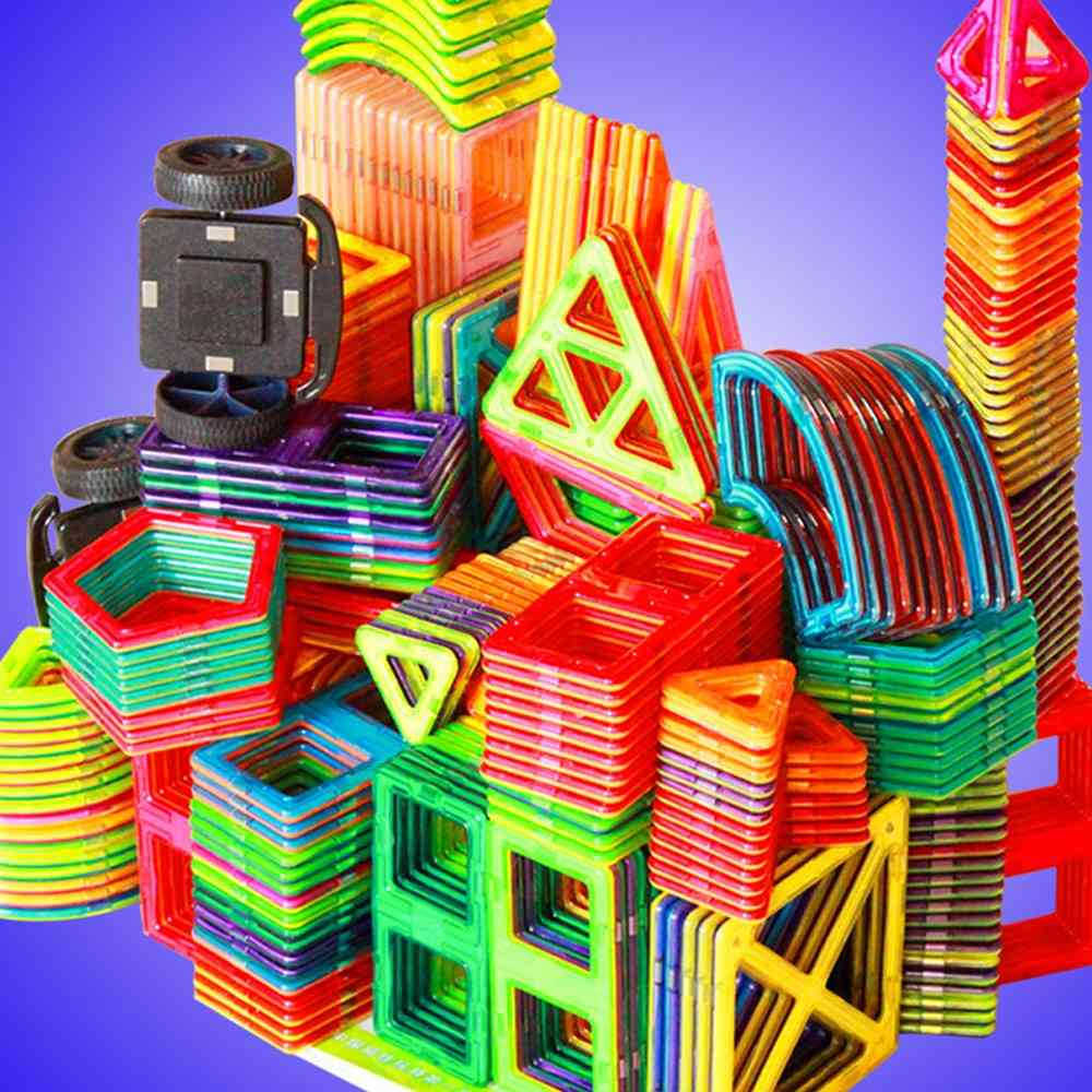 Big Size, Magnetic Blocks-construction For