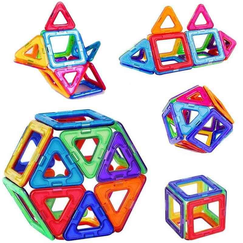 Magnetic Blocks, Building Single Bricks Toy