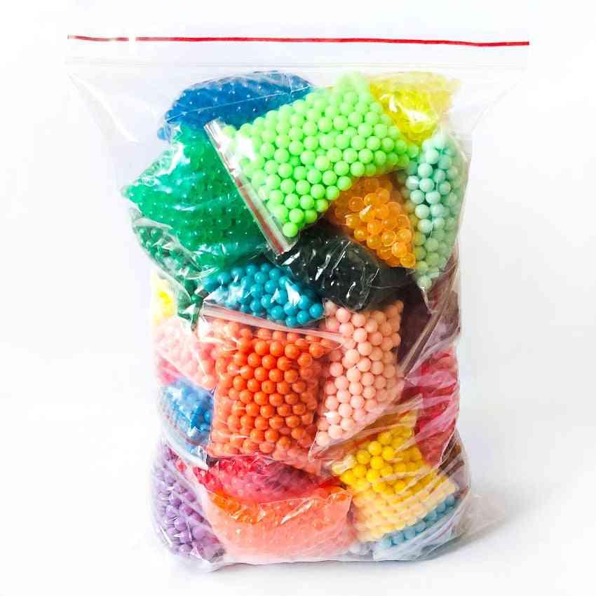 Pegboard Sticky Water Beads  Aqua Puzzle Beadbond Educational