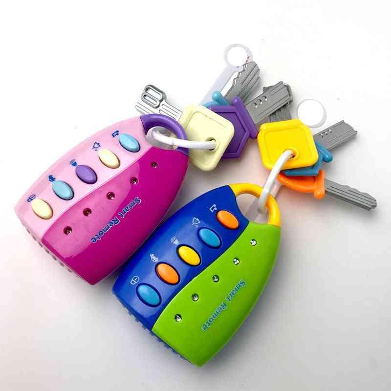 Musical Remote Car Key- Pretend Play