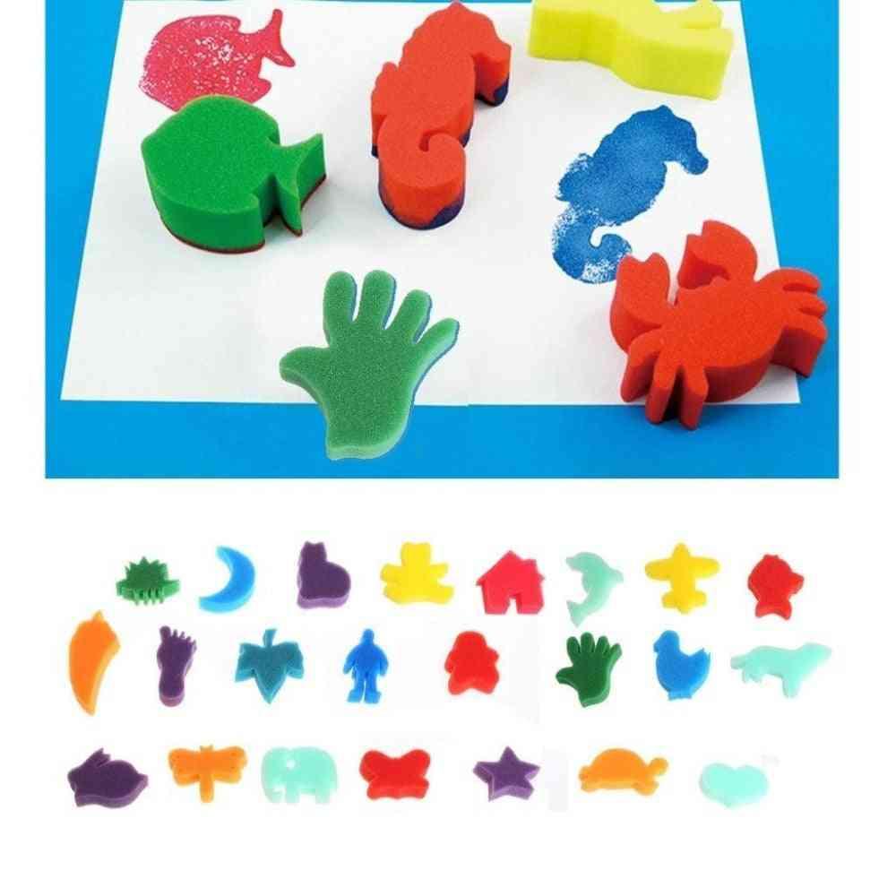 Sponge Art Craft Painting Set Home Education Toy