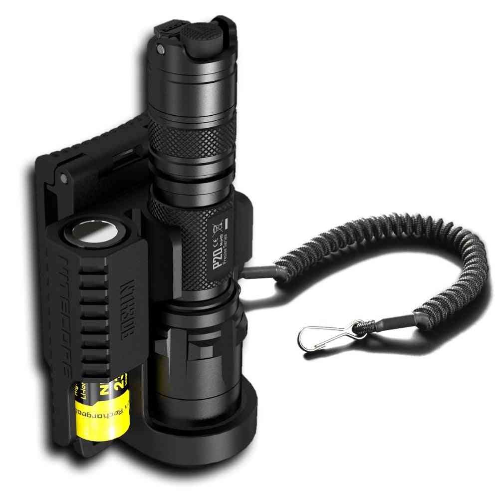 Hunting Duty Belt Professional Lamp Accessories Holster For Flashlight