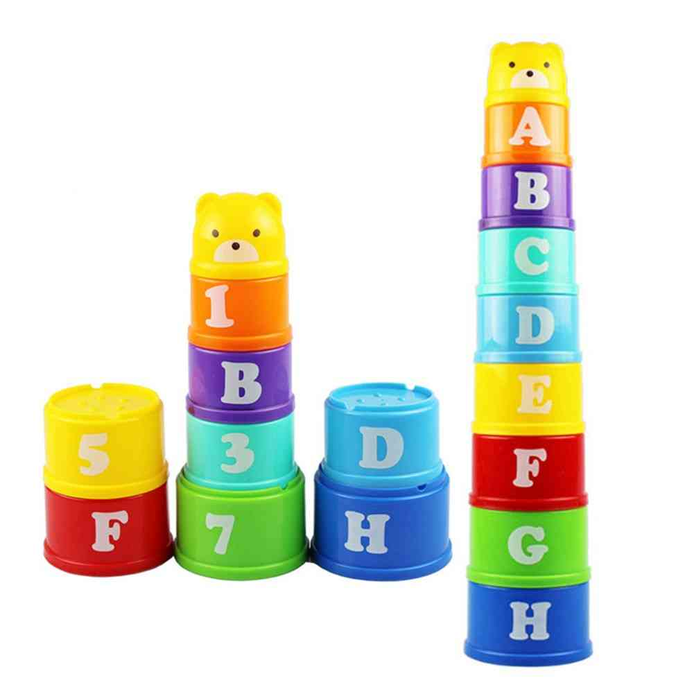 Stack Tower Early Intelligence Alphabet Toy
