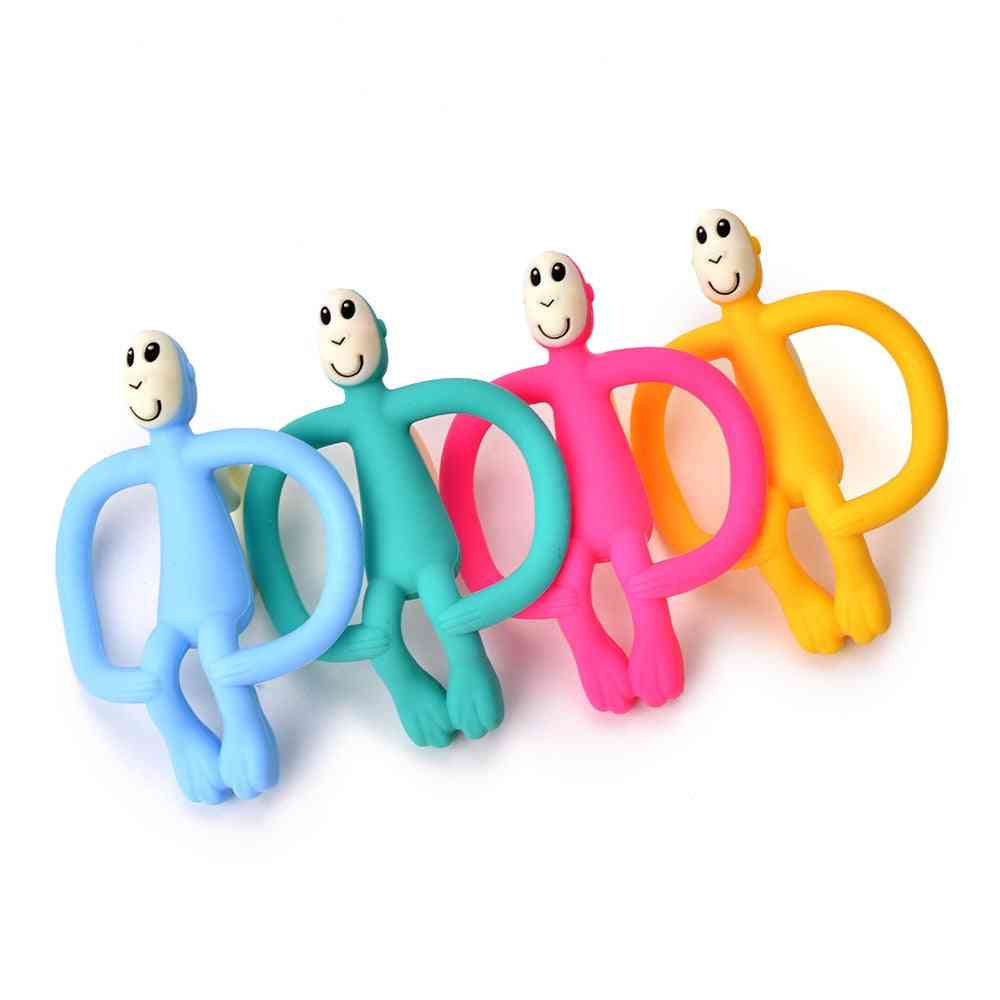 Soft Silicone Cute Molar Pain Relief Tool For Toddler-kids Teether