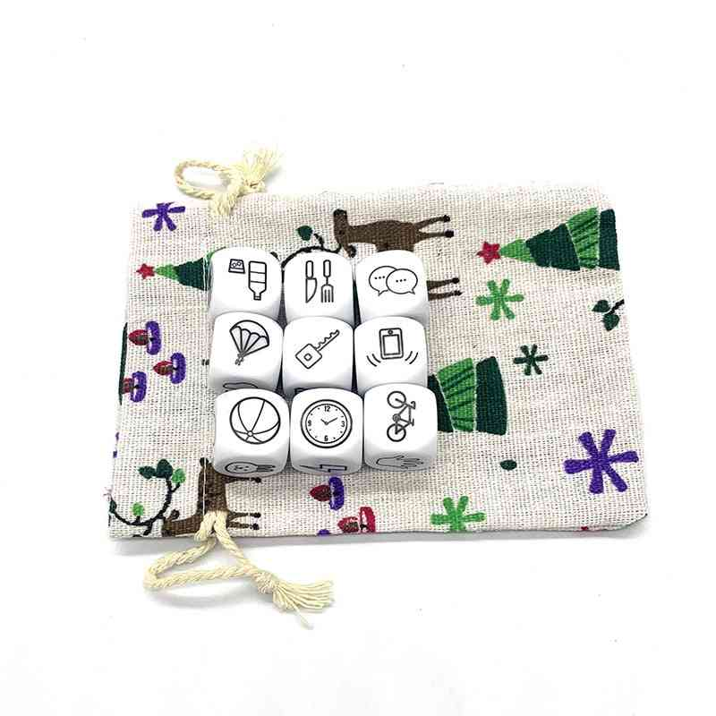 Dice Telling Story With Bag Game - Imagine Magic