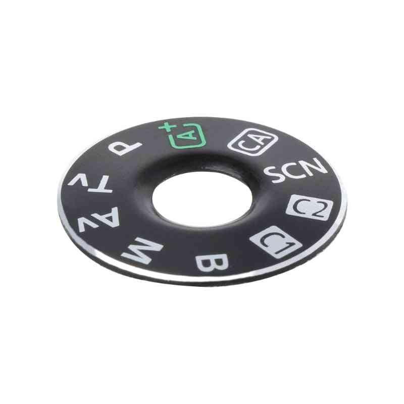 Camera Function Dial Mode Interface Cap Button Repair Parts For Canon Eos 6d