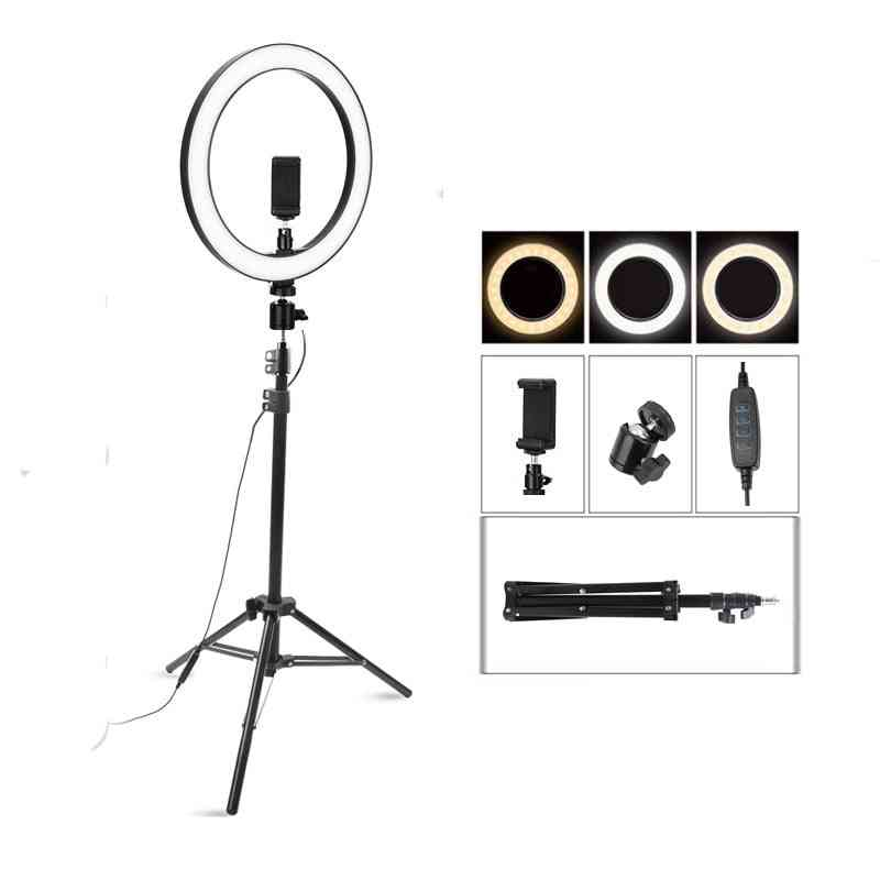 Dimmable Led Ring Lamp For Live Youtube