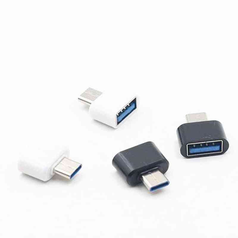 Usb To Type C Converter Usb Conversion Head Charger Straight Android Phones