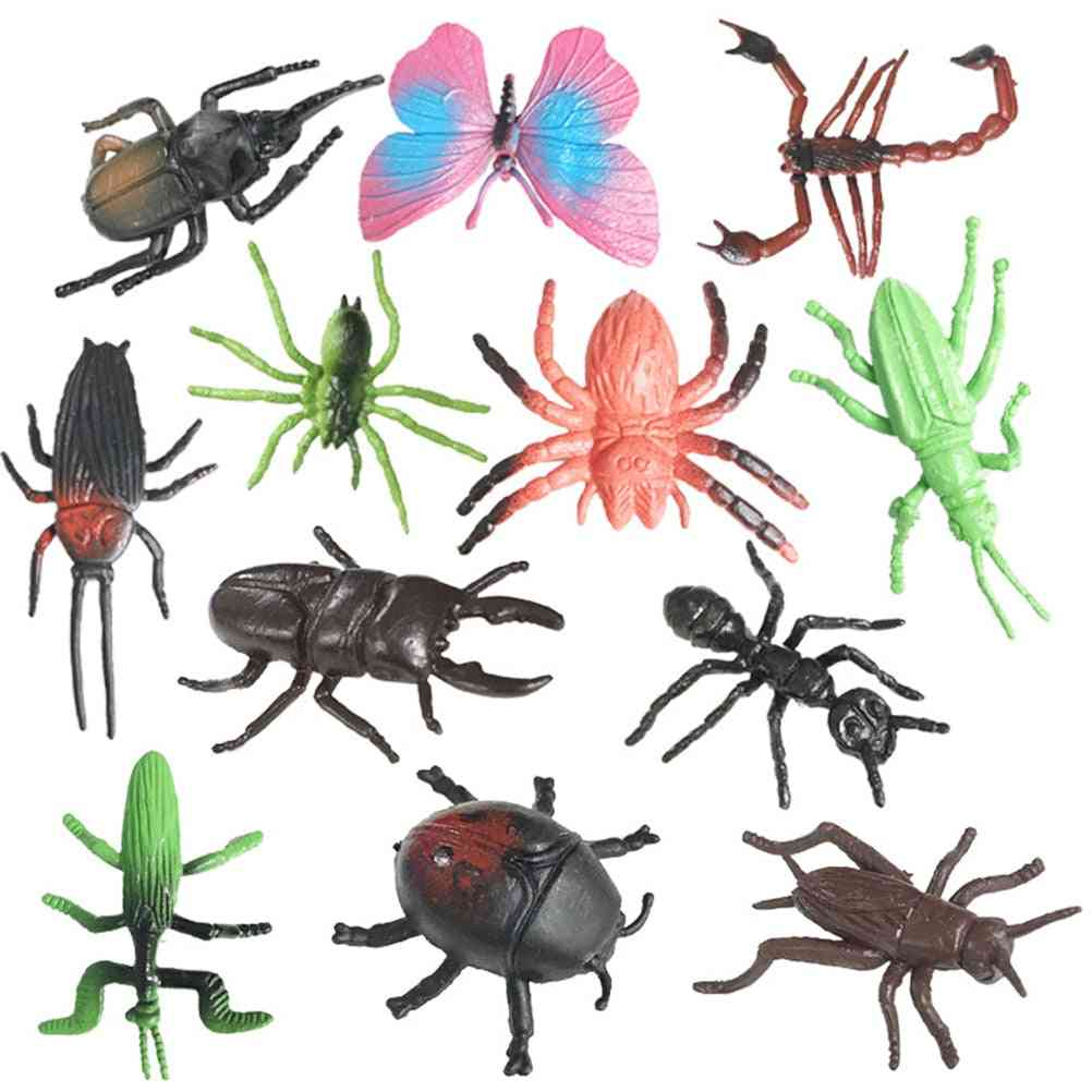 Simulation, Realistic Insects Figures - Biology Learning Educational