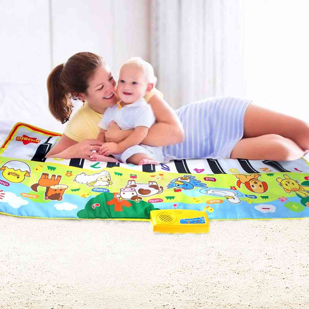 Musical Mat -baby Animal Theme Educational  Toy