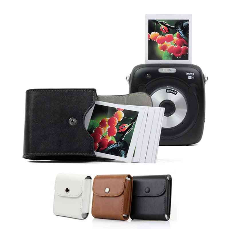 Mini Film Waterproof Pu Leather Photo Storage Bag Pouch Pocket Case For Camera