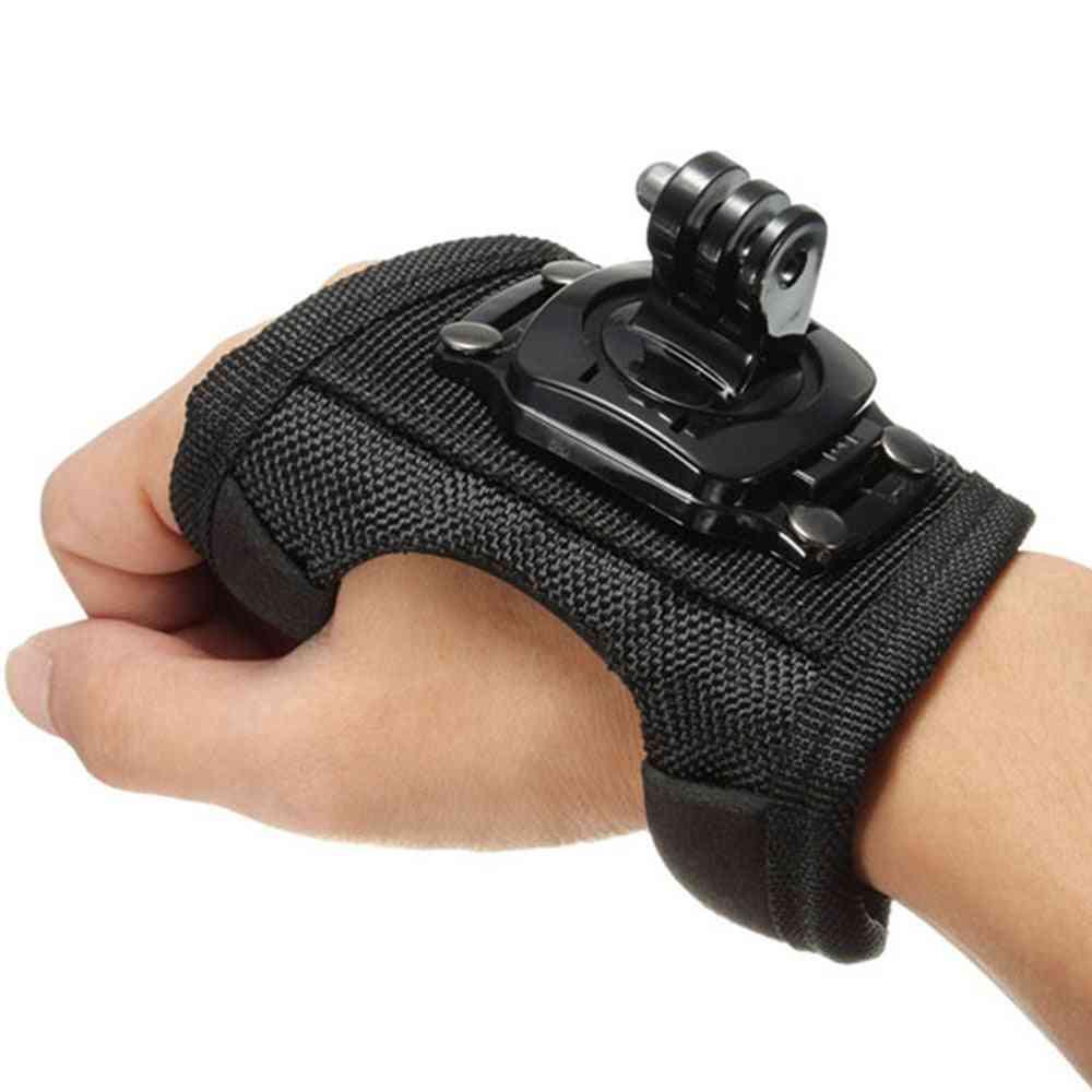 360 Degrees Wrist Band Arm Strap Belt Tripod Mount