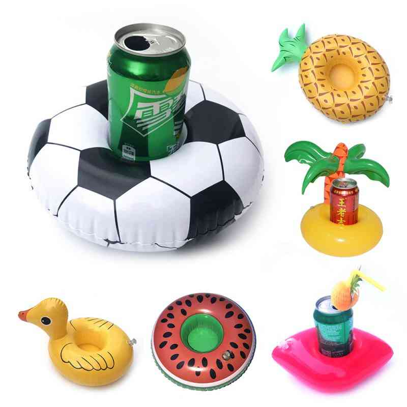 Mini Floating, Inflatable Water Swimming Pool - Drink Cup Stand Holder
